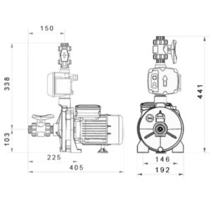 BTM Bomba Elevadora Smart Flux 750